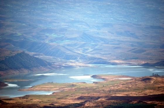 přehrada v Maroku