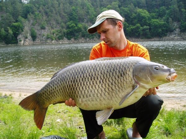Zdeněk Vašek - 21,20 kg a 100 cm z Orlíku