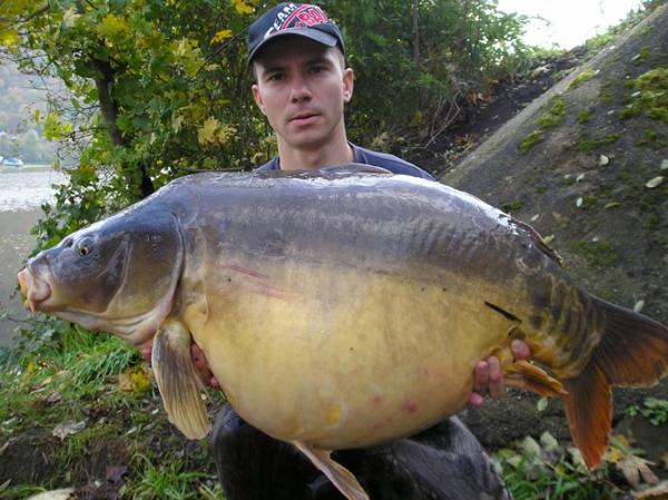 Tomáš Kašpar - 22,5 kg z Labe