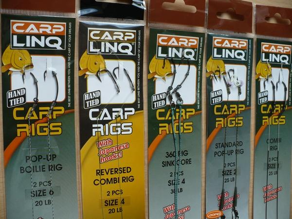 Hotové návazce od firmy CARP LINQ
