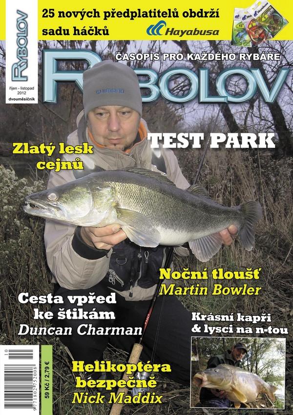 Titulka Rybolovu říjen-listopad/2012