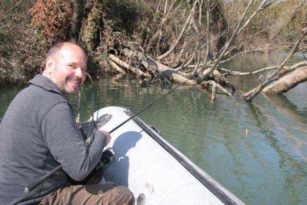 Rybaření z lodě s Thomasem