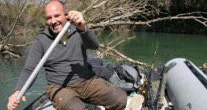 Rychlý lov na řece Rhoně