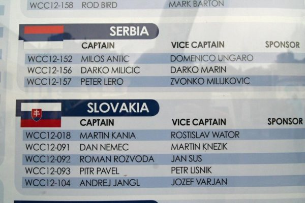 Náš tým byl zapsán jako vítěz slovenské kvalifikace