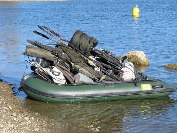 Transport věcí člunem