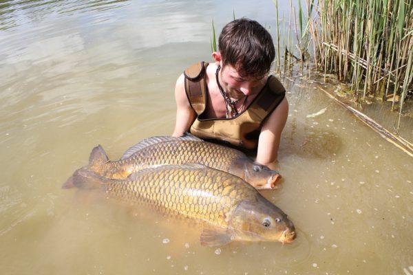 Po zimě přišly první teplé víkendy a s nimi dobré ryby!