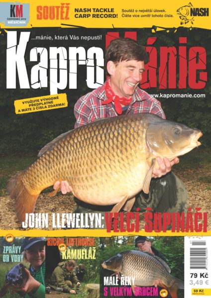 KaproMánie - červenec 2013