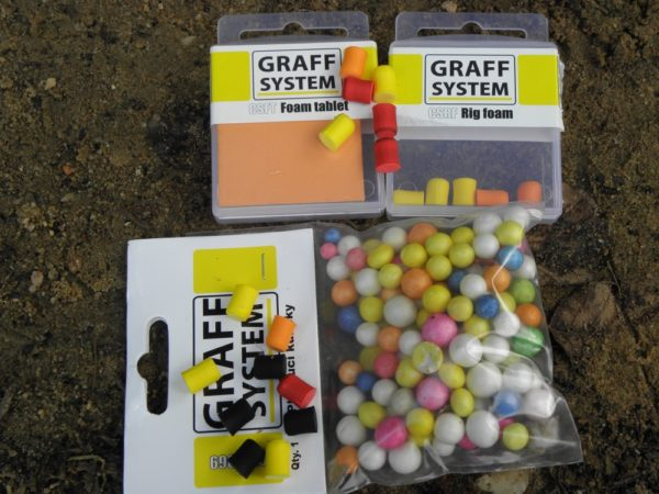 Plovoucí materiály Graff s širokým spektrem vužití