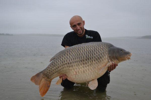 Moby Dick 35.70kg z jezera Lac Du Der