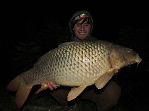 Libor a jeho 11kg úlovek