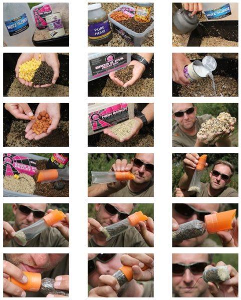 Příprava krmení a prezentace pomocí PVA sáčků
