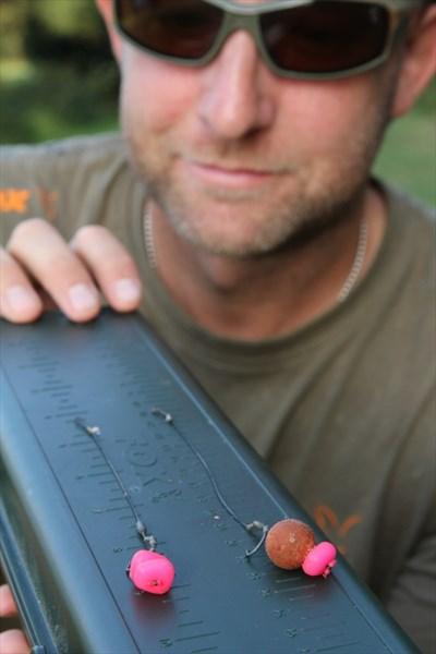 Krátké 10-12 cm návazce jsou ideální pro použití do PVA sáčku...