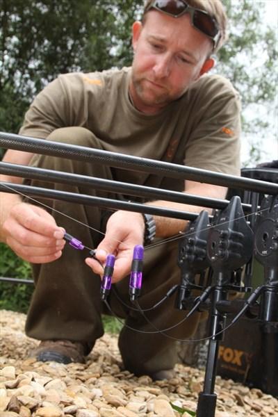 Strunové indikátory jsou ideální pro chytání s napnutými vlasci a na Zig Rig