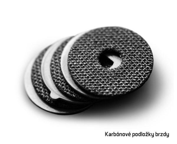 Karbonové podložky brzdy