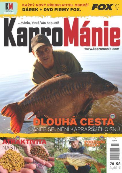 KaproMánie - listopad 2014