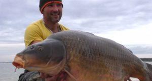 Video: Peter Šimonič s kaprem 35,5 kg z Lac du Der