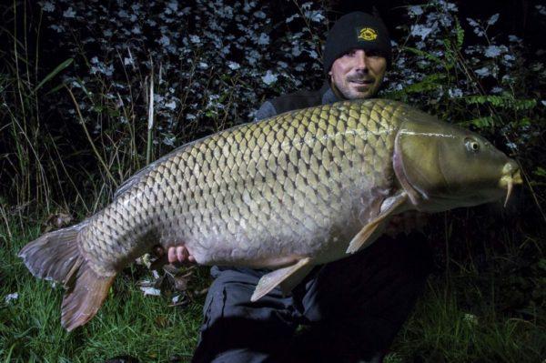 Jedna z těžších ryb 19,5 kg