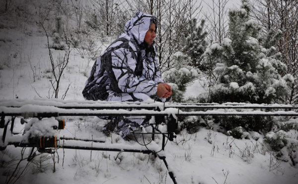 Zimní kaprařině je velmi adrenalinová a pro silné povahy