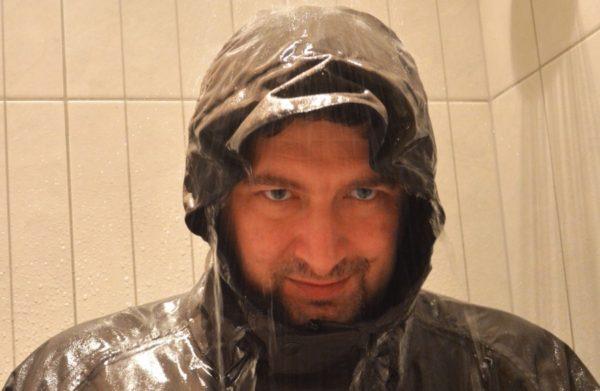 Sprchová simulace deště