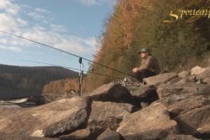 Video: Lov kaprů na české hluboké přehradě s Mírou Kratěnou
