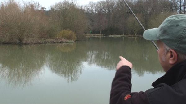 Ideální místo pro zimní rybaření