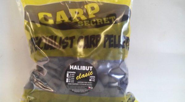 Halibut pelety Carp Secret