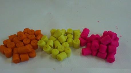 colors carp pelets