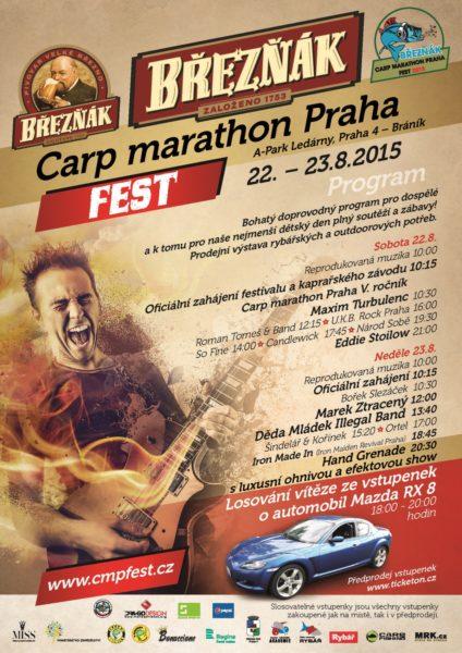BŘEZŇÁK CARP MARATHON PRAHA FEST 2015