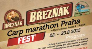 Soutěž o vstupenky na Březňák Carp marathon Praha Fest
