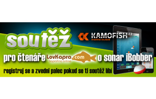 Soutěž s KamoFish.cz o nahazovací echolot iBobber!
