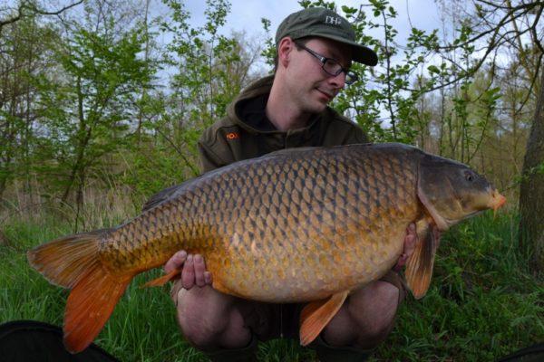 Ohromná radost, překonaný osobák a krásná ryba! 93cm a 16,3kg
