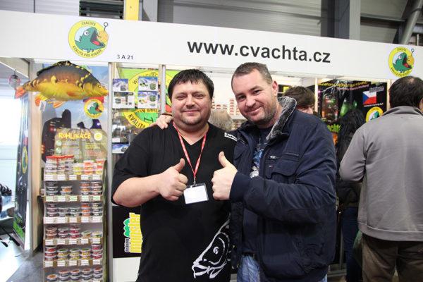 Já a Tomás (vpravo) na For Fishing 2016