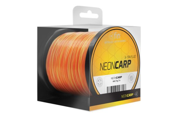 Novinka: Vlasec FIN NEON CARP / žlto oranžová