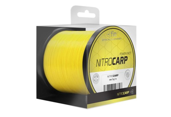Vlasec FIN NITRO CARP / x-tra fluo žltá