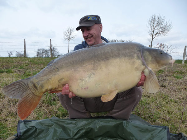Prvá ryba sezony 2015 - Francúz o váhe 20,30 kg