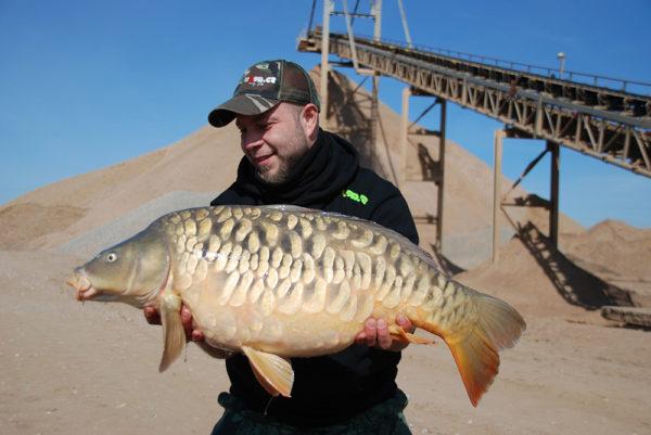 Bratrova velmi cenná ryba Full one - za šest let byl uloven teprve po druhé