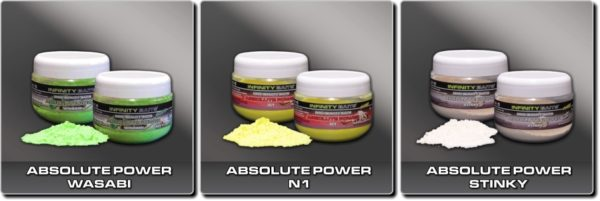 Infinity baits - Absolute Power fluoro - práškové