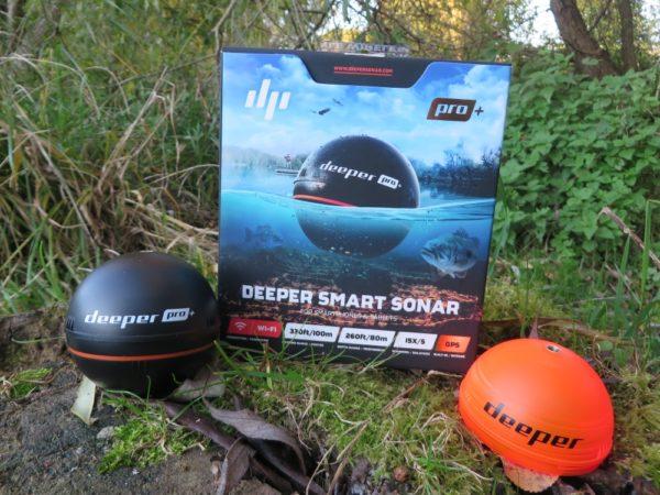 Deeper Fishfinder PRO+ včetně krytu pro noční používání