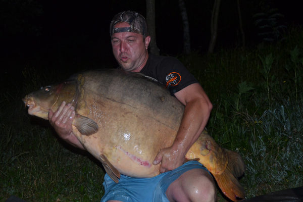 Kapr měl neskutečných 36,35 kg