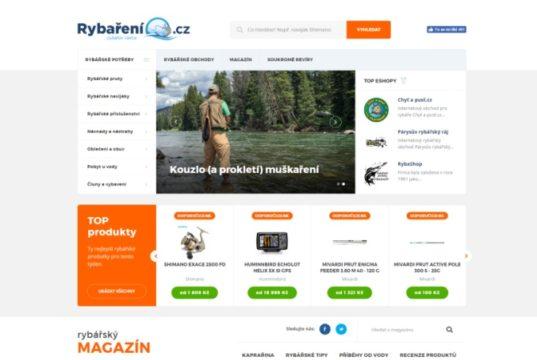 Nový web Rybaření.cz pomůže vybrat a ušetřit