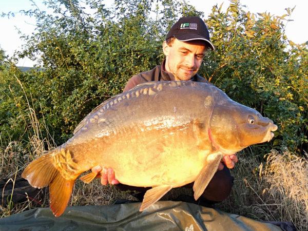 Další rybou je lysec 12,1 kg