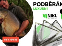 Nové luxusní podběráky Nikl