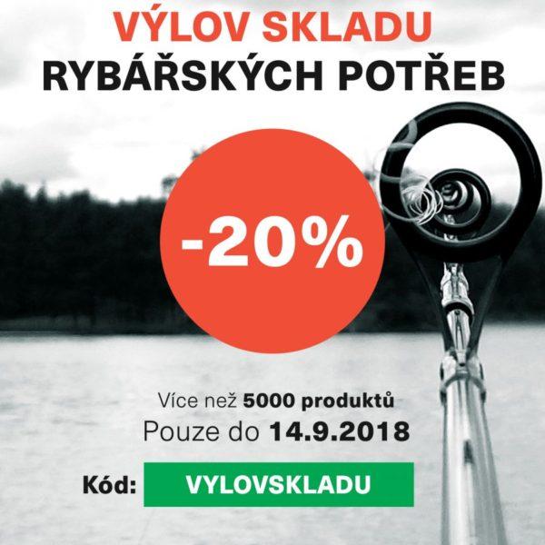 Akce roku! SLEVA 20% jen do 14.9.2018