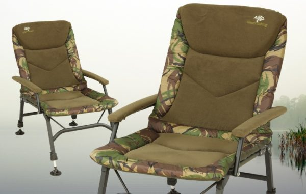 Křeslo Giants Fishing RWX Plus Camo Chair