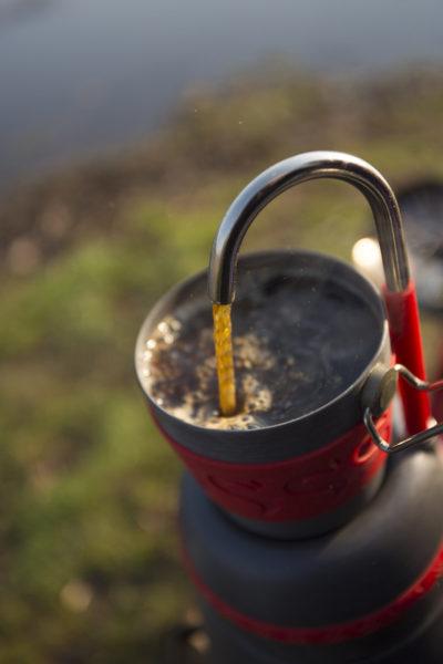 Káva na rybách je základ