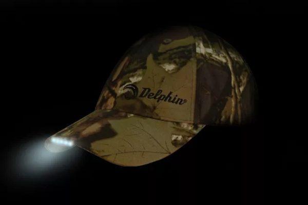 Delphin Kšiltovka s LED
