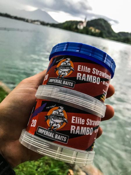 Nejůspěšnější nástraha, boilies Elite Strawberry RAMBO