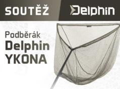 SOUTĚŽ o kaprařský podběrák Delphin YKONA pro ty nejnáročnější rybáře!