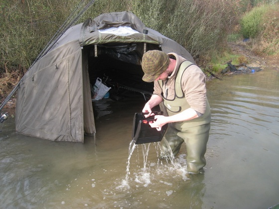 voda v bivaku