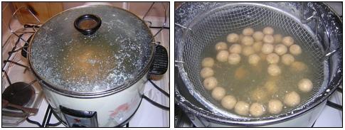 vaření boilies